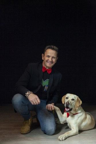 Enzo Salvi, protagonista di Io un attore cane