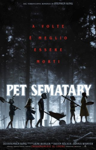 film Pet Sematary (2019) poster italiano
