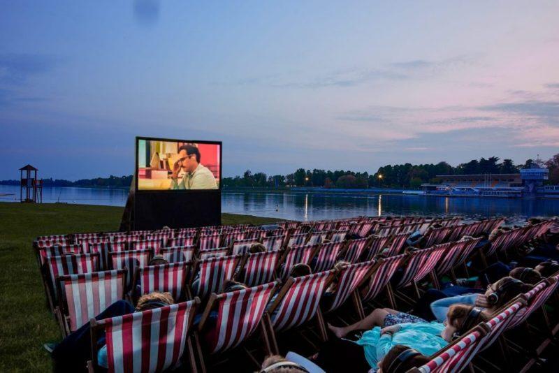 Cinema Bianchini spiaggia Idroscalo