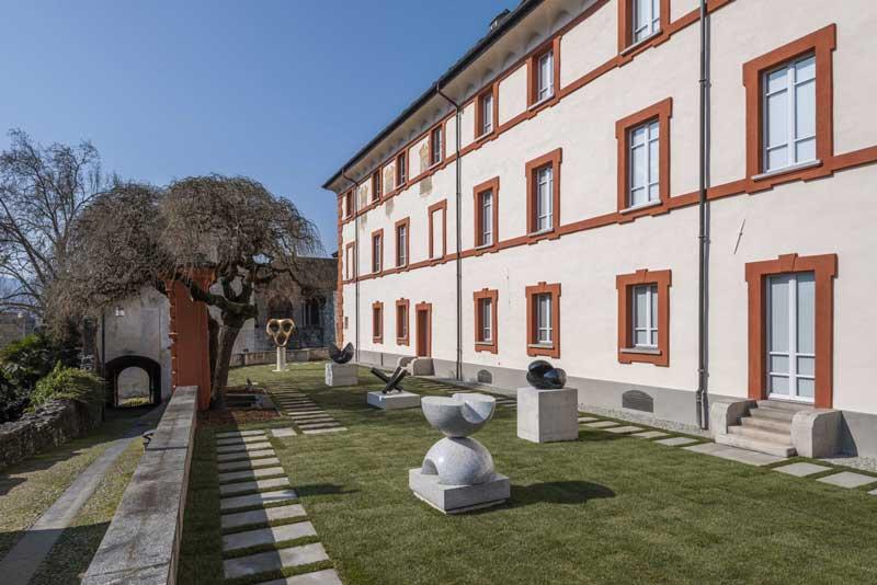 Museo Casorella, Giardino Max Bill © Collezione Città di Locarno - Foto Cosimo Filippini