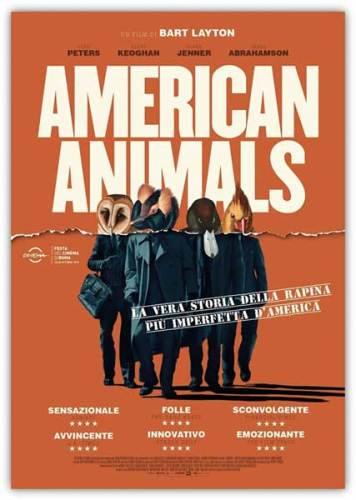 American Animals poster ita