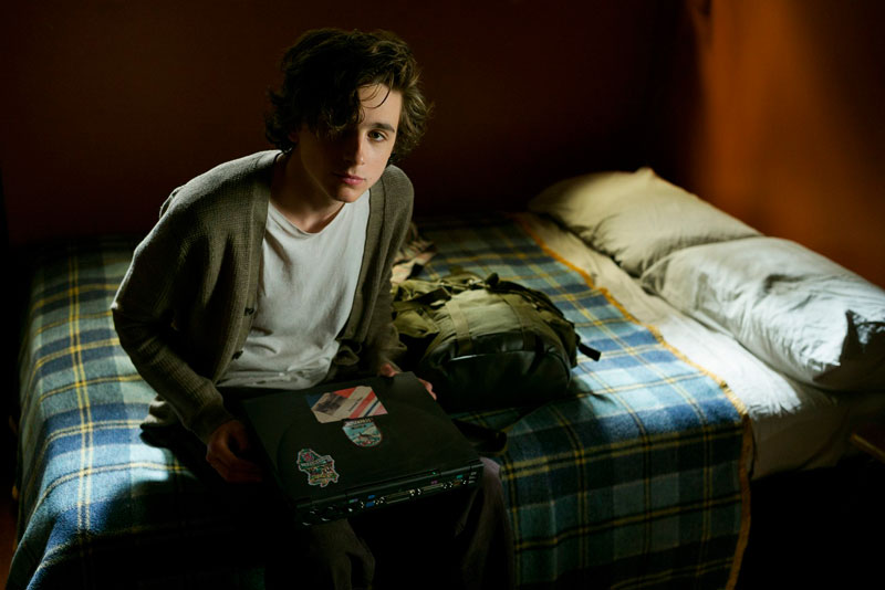 Timothée Chalamet in una scena del film Beautiful Boy - Photo: courtesy of 01 Distribution