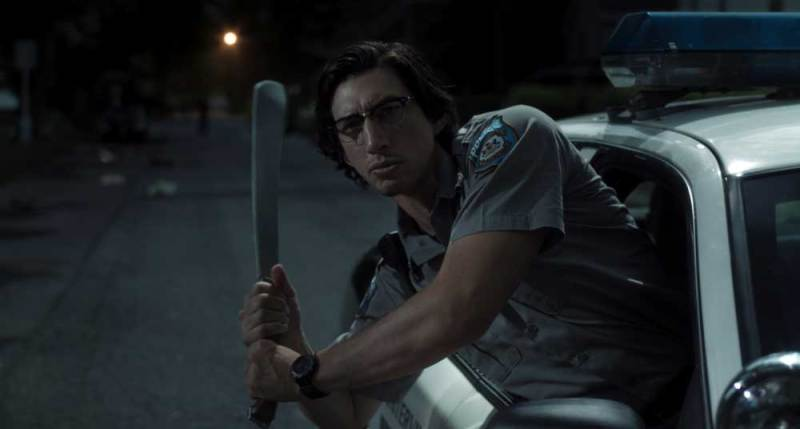 Adam Driver in una scena del film I Morti Non Muoiono © 2019 Image Eleven Productions, Inc.