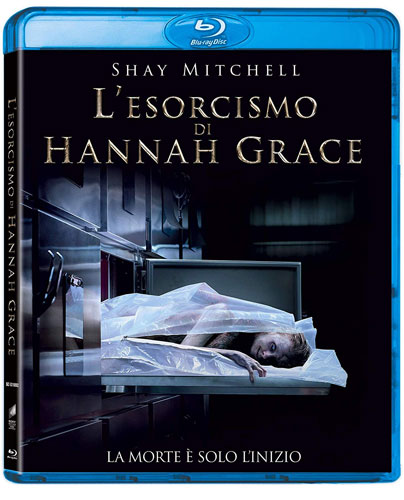 La cover del Blu-ray disc dell'horror L'esorcismo di Hannah Grace
