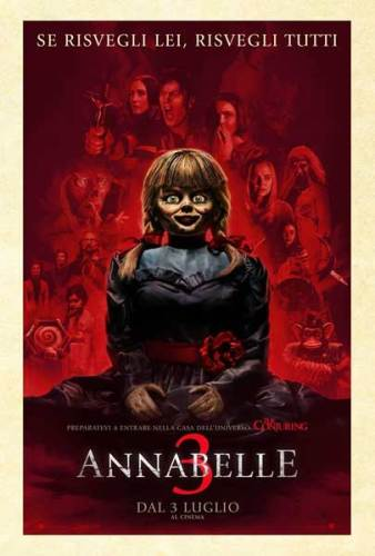 Annabelle 3 poster italiano