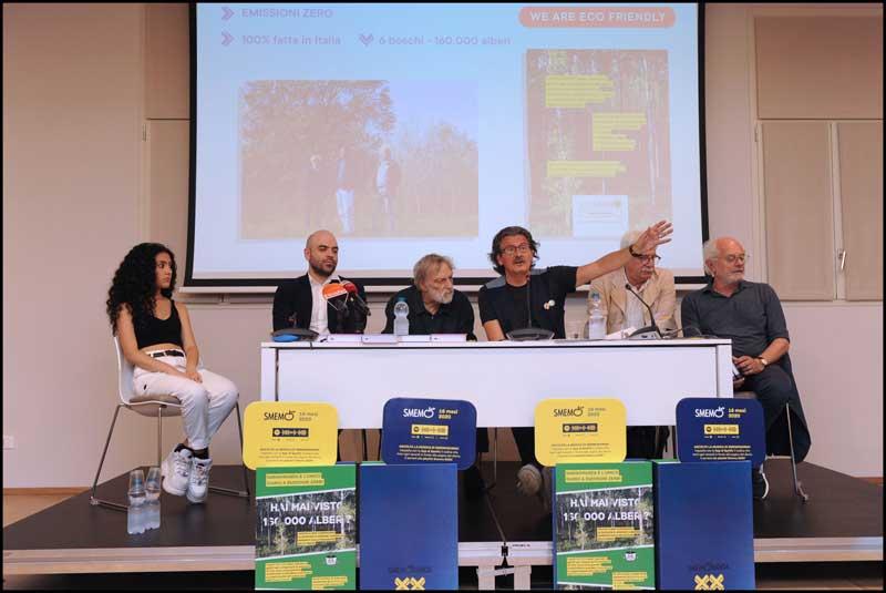 La conferenza stampa di presentazione della nuova Smemo