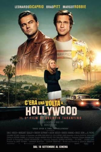 Il poster italiano C'era una volta a... Hollywood