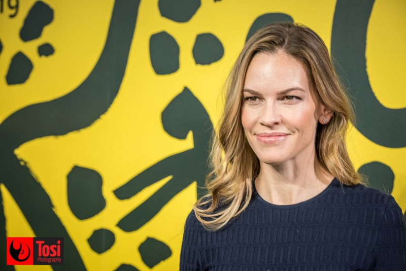 Hilary Swank a Locarno 72 - Conversation col pubblico © Tosi Photography