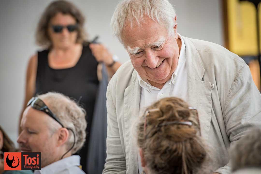 Fredi M. Murer in conversazione col pubblico di Locarno 72 © Tosi Photography