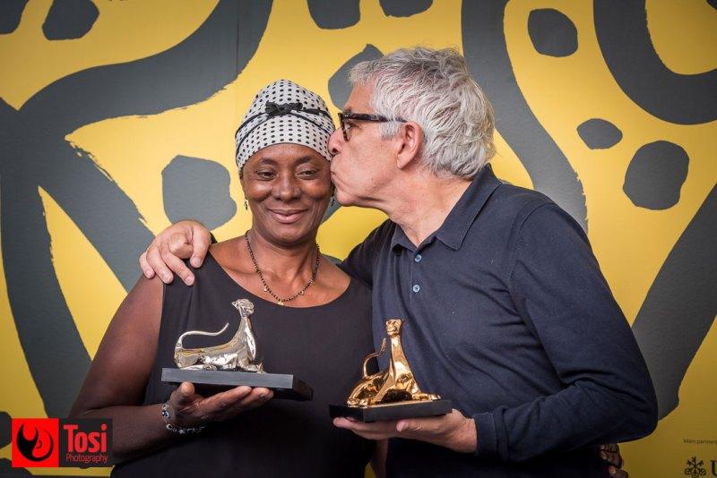 I vincitori di Locarno 72 - Vitalina Varela e Pedro Costa © Tosi Photography