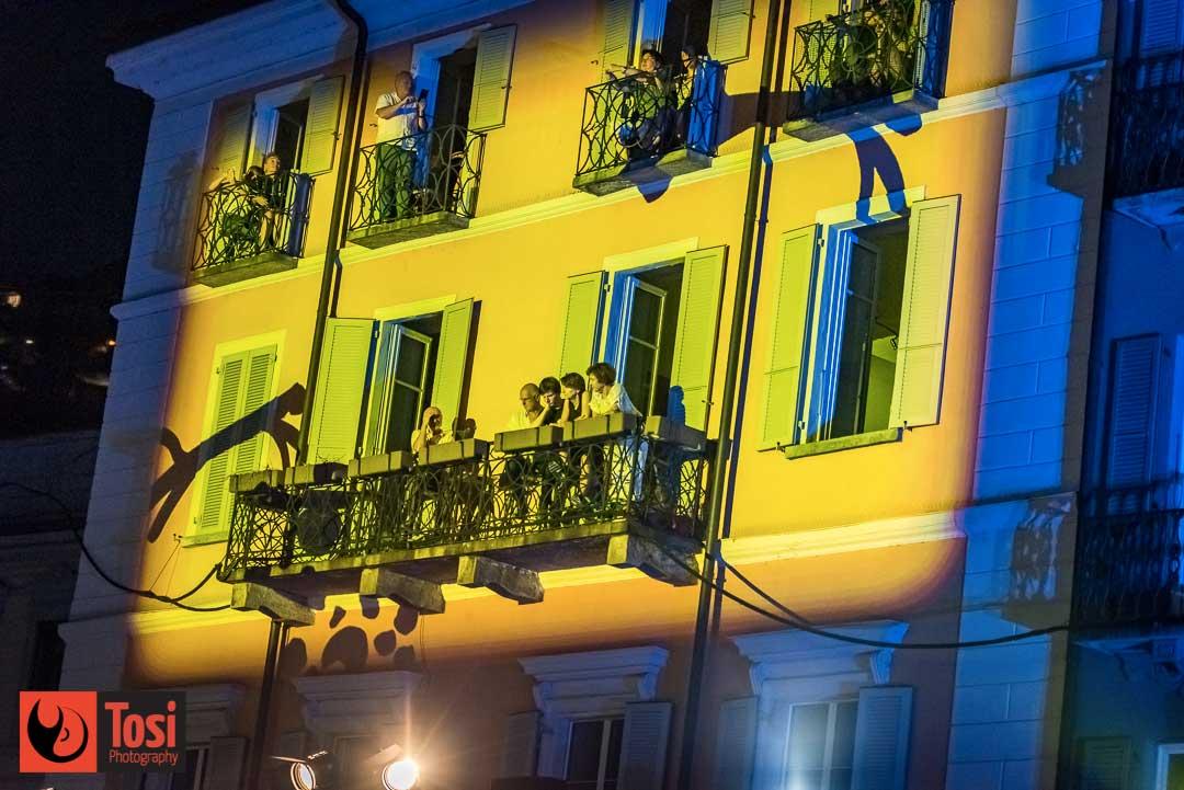 Giochi di luci sui palazzi di Piazza Grande © Tosi Photography