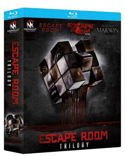 Escape Room Trilogy: cofanetto blu-ray