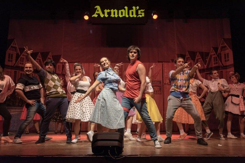 una scena di Happy Days il musical