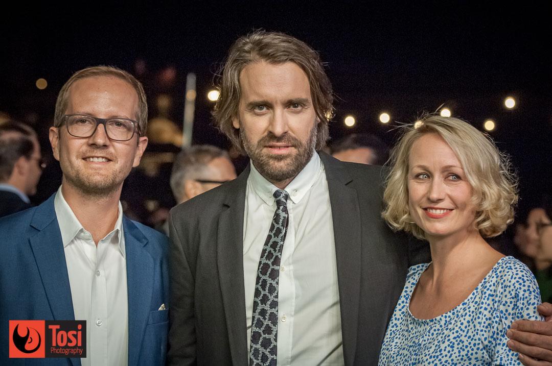 ZFF2019 FILM Volunteer - Lorenz Nufer, Anna Thommen, Peter Zwieko - Photo by Tosi Photography