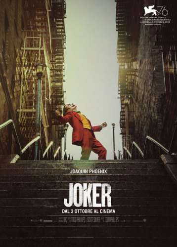 Joker di Todd Phillips - poster film