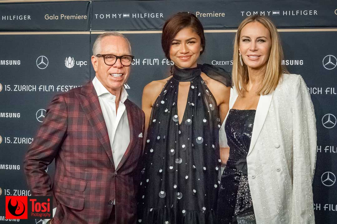 ZFF2019 FILM Le Mans '66 - Tommy Hilfiger, Zendaya and Dee Hilfiger - Photo by Tosi Photography