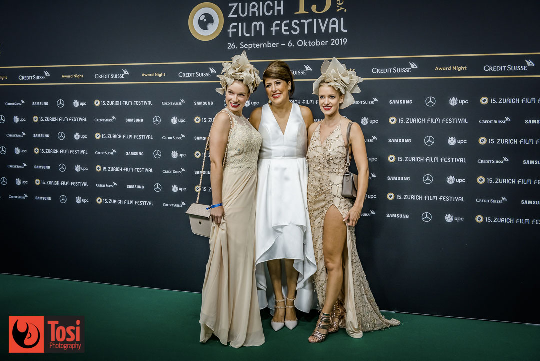 ZFF2019 Closing night: guests on the green carpet - Photo by Tosi Photography