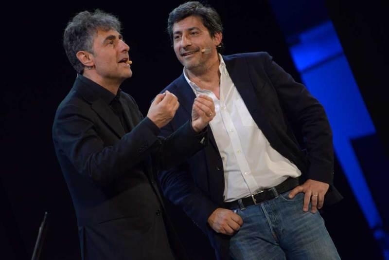 Emilio Solfrizzi e Antonio Stornaiolo ne Il Cotto e il Crudo
