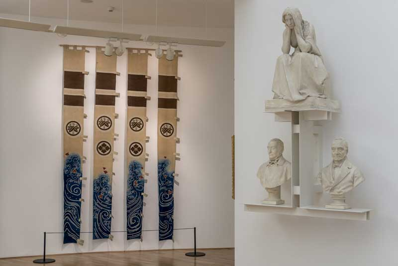 La sala numero VII del Museo Vincenzo Vela © Museo Vincenzo Vela - Foto Mauro Zeni