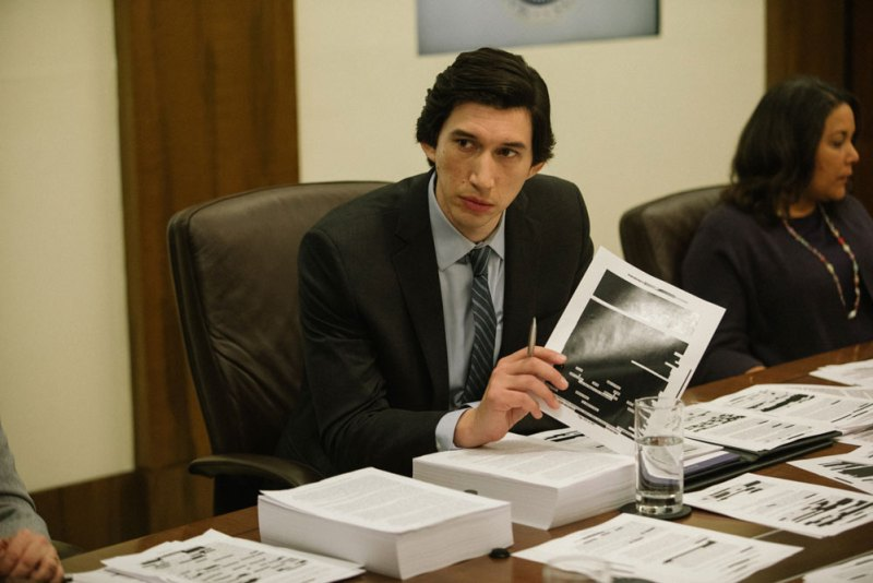 Adam Driver in una scena del film The Report - Photo: courtesy of QMI