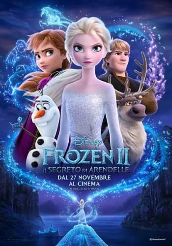 Frozen 2 poster ita