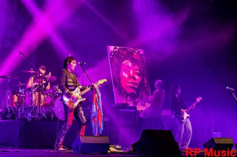 Andrea Cervetto in The Jimi Hendrix Revolution. Photo by RPMusic.