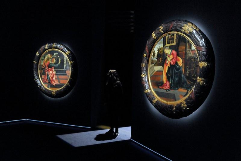 L'inaugurazione dell'Annunciazione di Filippino Lippi a Palazzo Marino. Foto: Andrea Scuratti – Comune di Milano
