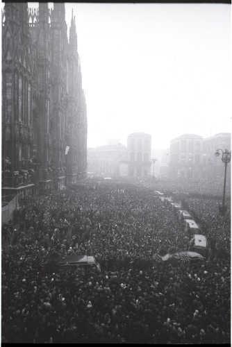 Milano Anni 60: Funerali di Piazza Fontana © Archivio Publifoto Intesa Sanpaolo