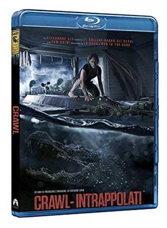 La cover del bluray di Crawl - Intrappolati.