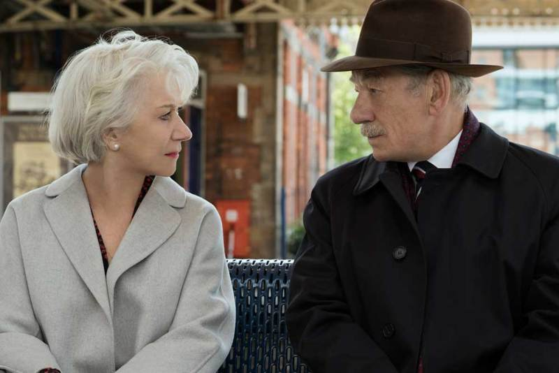 Helen Mirren e Ian McKellen nel thriller L'inganno Perfetto- Photo Credit: Chiabella James © 2019 WARNER BROS. ENTERTAINMENT INC.