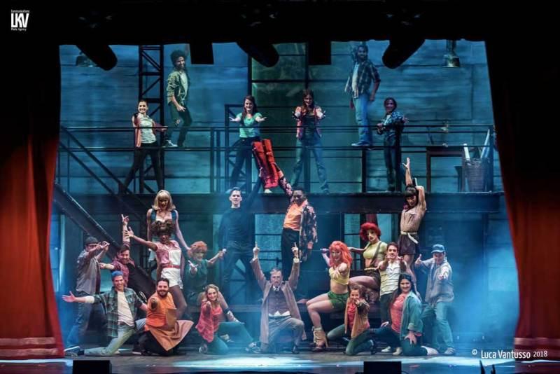 Un momento del musical Kinky Boots - Photo: Luca Vantusso 2018