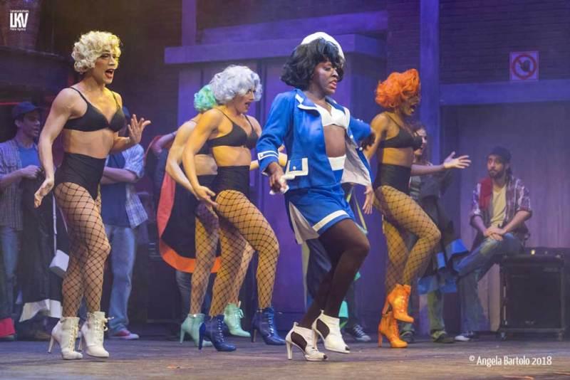 Un momento del musical Kinky Boots - Photo: Angela Bartolo 2018