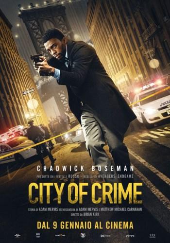 City of Crime poster italiano film