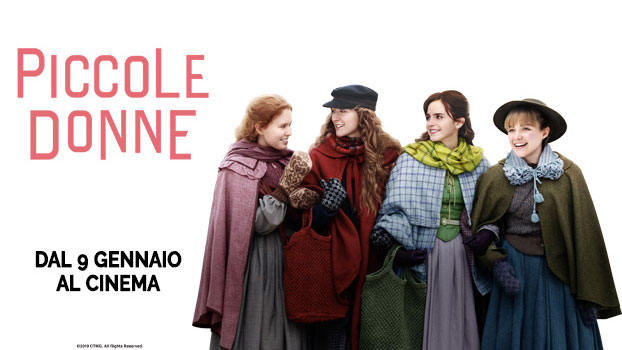 Piccole Donne 2020 banner film