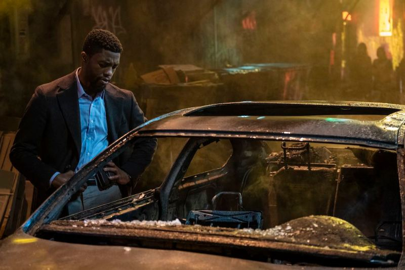 Chadwick Boseman in una scena del film - Photo: Universal Pictures.