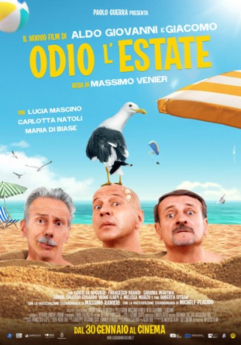 odio l'estate poster film