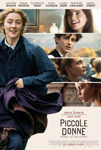 Piccole Donne poster ita