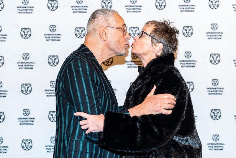 Lluís Miñarro alla premiere del suo film Love Me Not - Photo: courtesy of IFFR