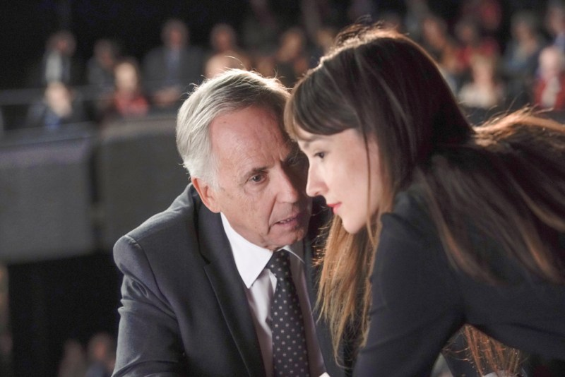 Fabrice Luchini e Anaïs Demoustier in una scena del film Alice e il Sindaco - Photo: courtesy of Movies Inspired