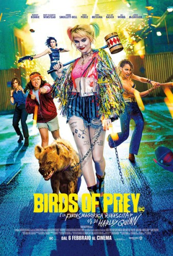 BIRDS OF PREY poster ita