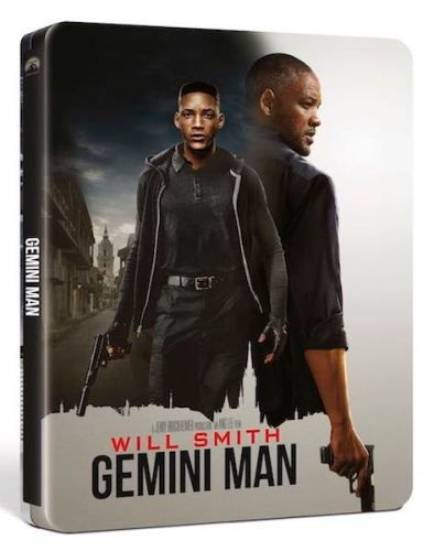 Gemini Man l'action - steelbook cover