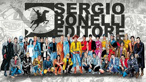 A casa con l'autore di Sergio Bonelli Editore