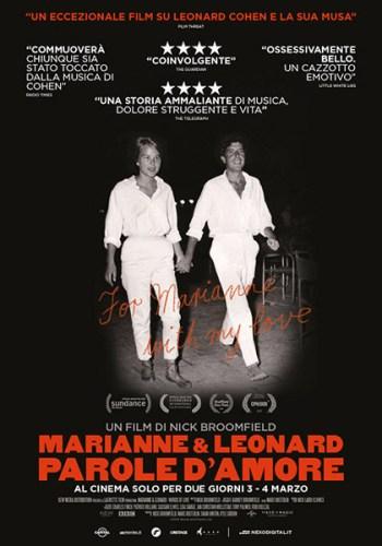 Marianne & Leonard poster ita