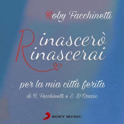 La copertina del singolo Rinascerò, rinascerai