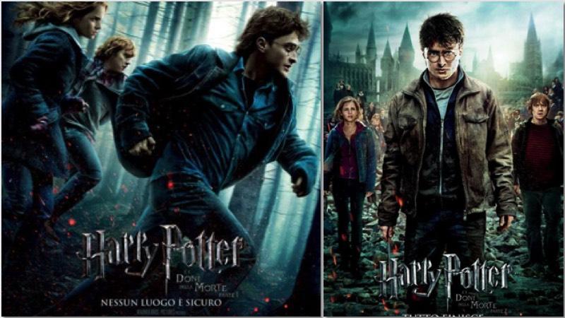 harry potter e i doni della morte: i poster