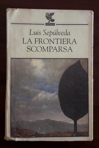 La copertina del romanzo La Frontiera Scomparsa.