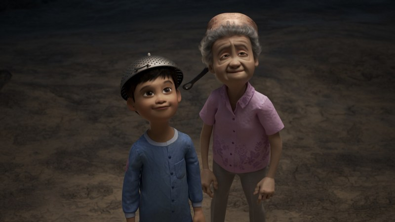 Un'immagine del corto Pixar Wind, tra le novità di aprile su Disney+