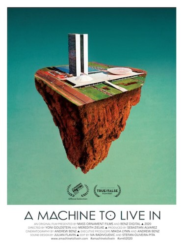 A machine to live in poster