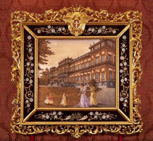 Clelia Grafigna, La Villa Reale, 1899. Foto di Paolo Gepri. Archivio Consorzio Villa Reale e Parco di Monza