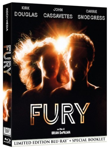 Fury di Brian De Palma in home video con Koch Media